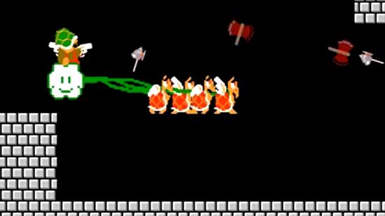 Süper Mario çıldırdı!