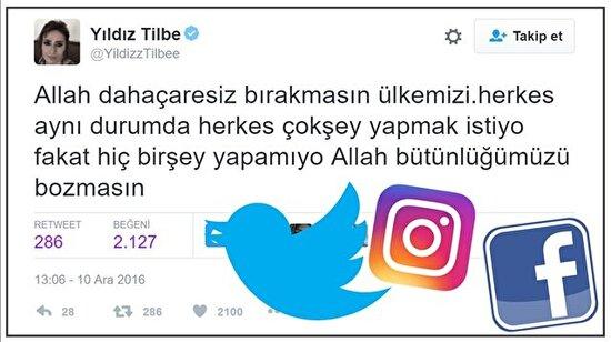 Beşiktaş'taki terör saldırısına ünlüler dünyası da sessiz kalmadı
