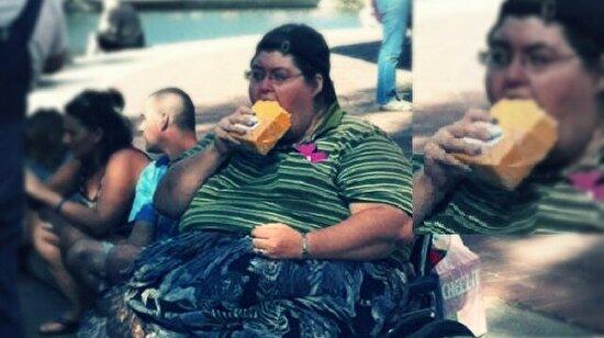 Milyonlarca kez paylaşıldı: Bu kadın ne yiyor?