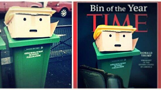 Trump'a benzeyen çöp kutusu meşhur oldu: 10 acımasız fotoşop