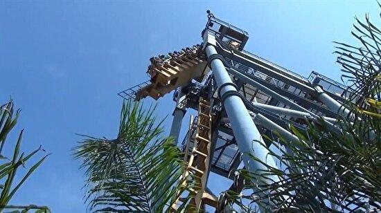 En korkunç roller coasterlardan biri: Gravity Max!