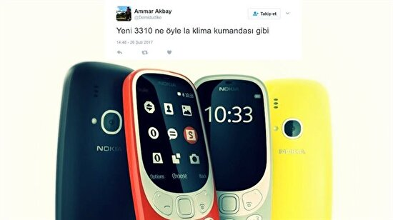 Nokia 3310 geri döndüğüne pişman etti: Klima kumandası gibi