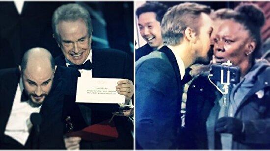 Oscar'da gecenin esprisi: Zarfları ben değiştirdim
