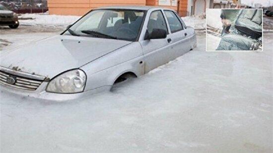 Arabasını yanlış yere park ettiğini 30 gün sonra fark eden kadın sürücünün dramı