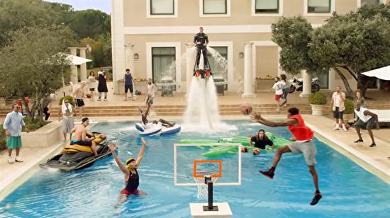 THY'nin basketbol Euroleague için yaptığı reklam filmi ve eğlenceli kamera arkası!