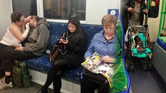 Toplu taşımada her zaman karşılaşamayacağınız 7 absürt durum