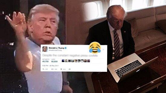 Trump yine madara oldu: Siz de covfefe misiniz?