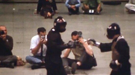 Bruce Lee'nin filmleri dışındaki kaydedilmiş ilk ve tek dövüş videosu!