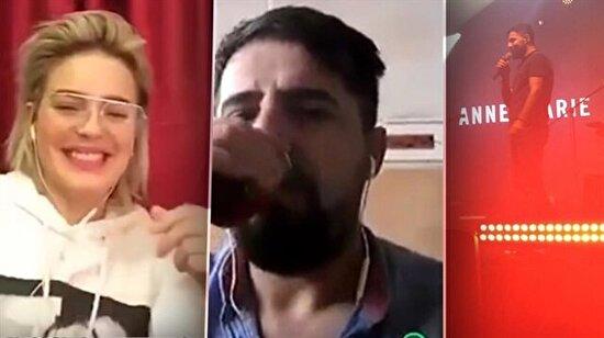 Cizreli Mehmet Ali, Anne Marie ile sahneye çıktı sosyal medya sallandı!