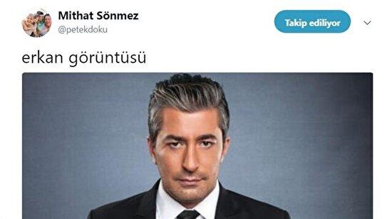 Twitter trolleri Erkan Petekkaya'yı diline doladı !