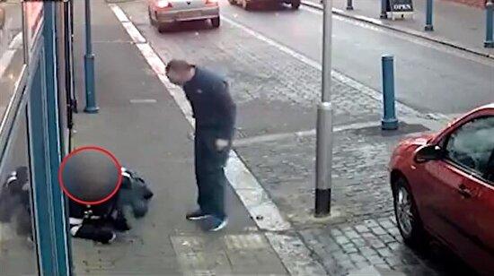 Ceza kesen trafik polisine şidddet uygulayan psikopat