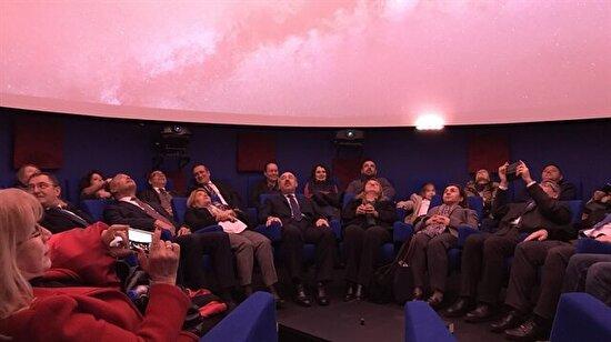 Türkiye'nin ilk 4K çözünürlüklü planetaryumu İstanbul'da açıldı