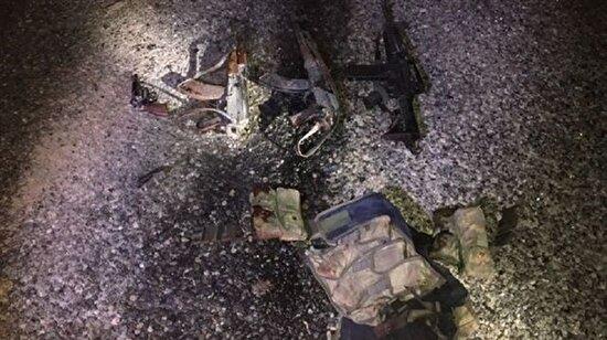 4 askerimizi şehit eden teröristler öldürüldü