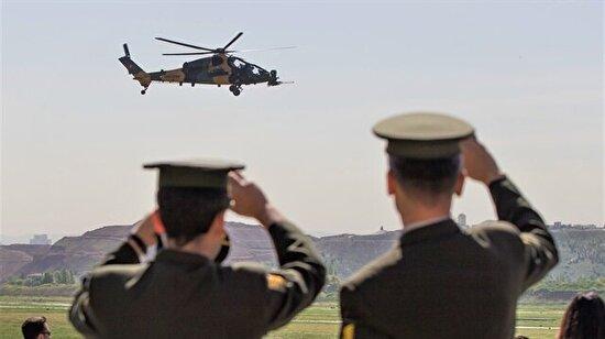 T129 ATAK helikopterlerinin Jandarma'ya teslim töreni gerçekleşti
