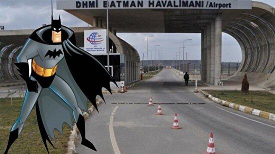 Dünyanın en komik havalimanı: Batman Havalimanı oldu