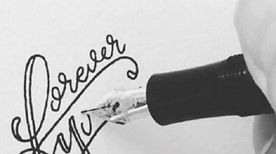Güzel yazı yazabilmek de bir sanattır