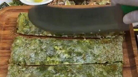 Fıstıklı kaymaklı katmer
