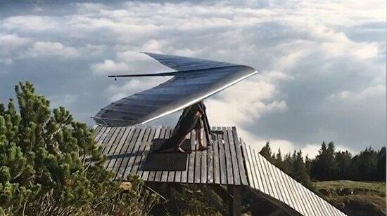 Yelkenkanatla İsviçre semalarında huzurlu bir uçuş