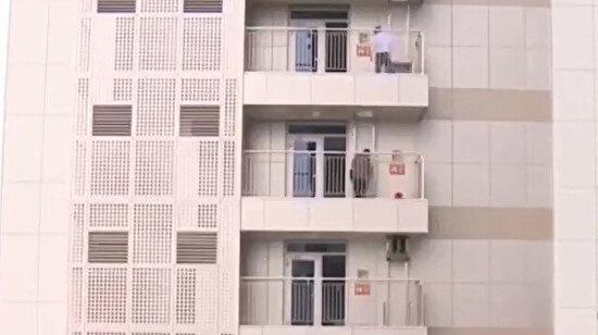 Norveç'teki acil durum balkon asansörleri