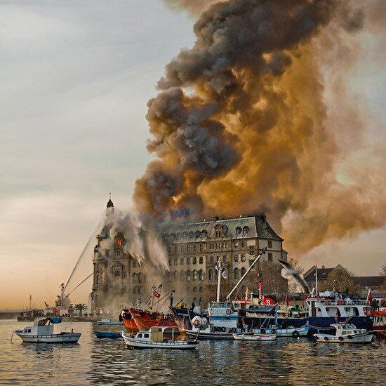 28 Kasım 2010: Haydarpaşa Garı'nda yangın çıktı