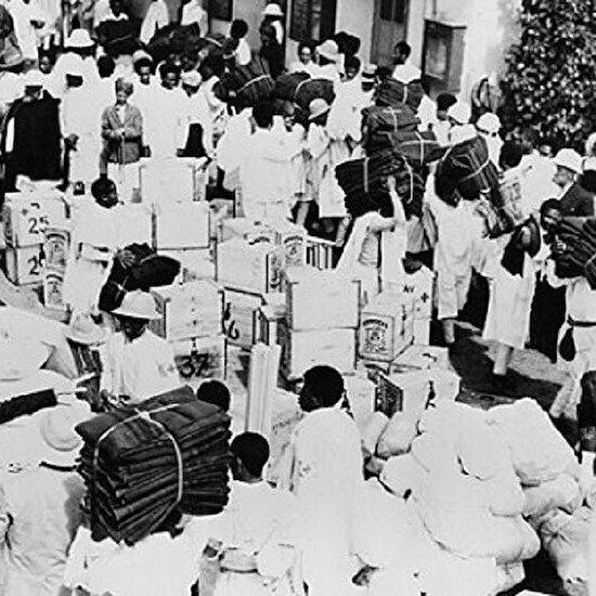 İtalyan diktatör Mussolini'nin ordularıyla Habeşistan'da savaşan Mehmet Vehip Paşa