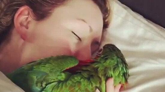 Böyle uyandırılmak istiyorum