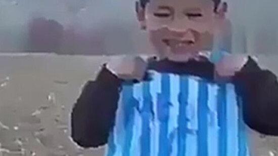 Teşekkürler Messi amcası