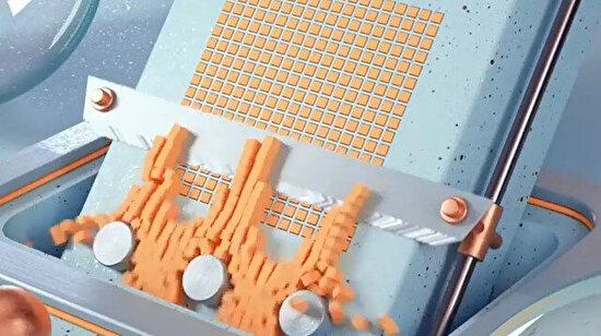 Sabun kesme sesinin animasyon hali