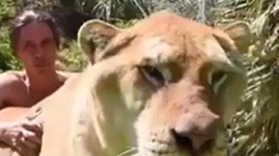 Düşünsene en yakın arkadaşın bir aslan