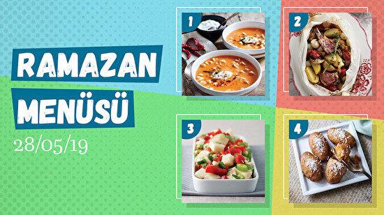 Ramazan ayına özel günlük iftar menüsü #23