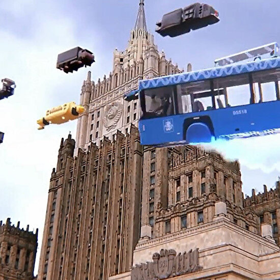 İşte ihtiyacımız olan trafik düzeni ve toplu taşıma