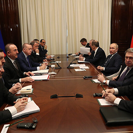 Berlin'de Cumhurbaşkanı Erdoğan ve Putin zirvesi