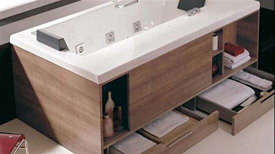Sınırlı alanı olan banyolar için mükemmel bir tasarım