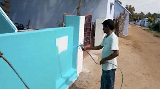 Bazen sadece duvar boyamak istersin