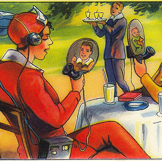 1930'lu yıllarda gelecek tasviri