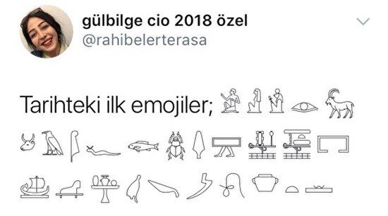 Tarihteki ilk emojiler
