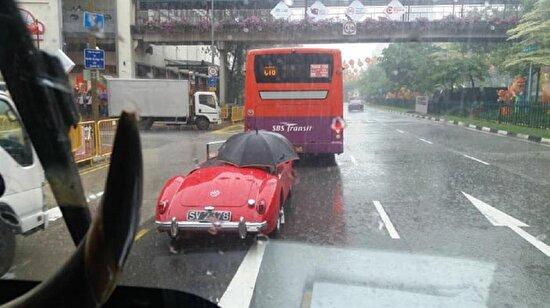 Yağmurdan korunmak?