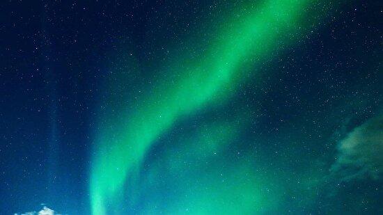 Kuzey ışıklarının dansı