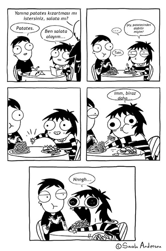Sonuçta patates kızartması