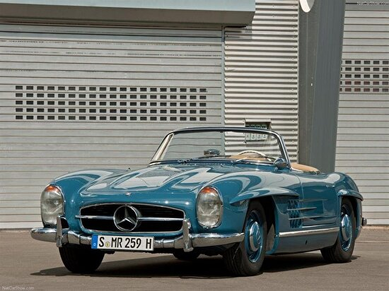 1957 Mercedes-Benz 300SL Gullwing Coupe