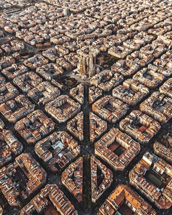 Barcelona'nın hayran bırakan şehir planlaması