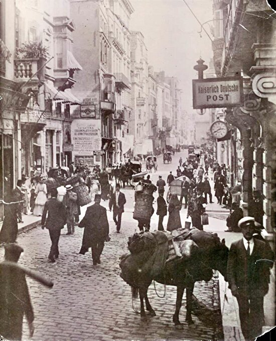 İstiklal Caddesi, 1910