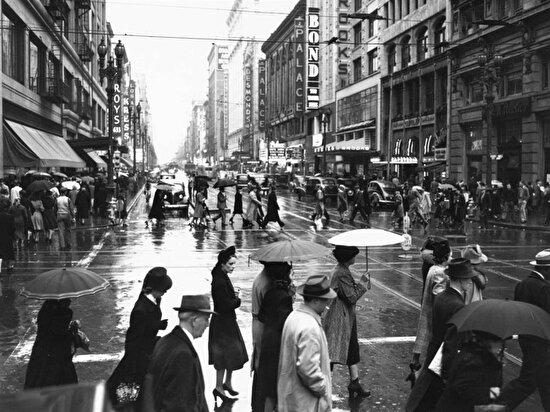 Yağmurlu bir gün, Los Angeles, 1939
