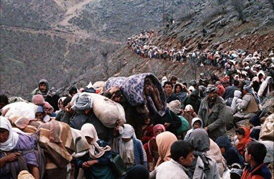 Irak'tan Türkiye'ye göç, 1991