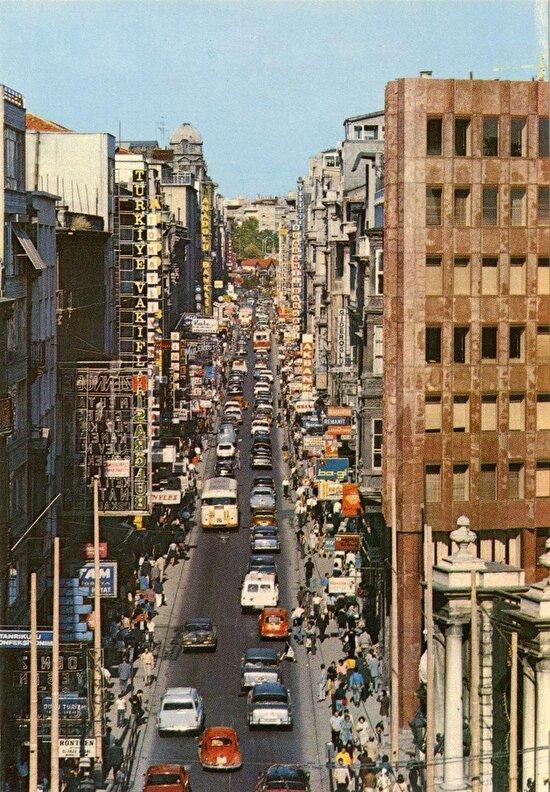 1970'ler İstiklal Caddesi