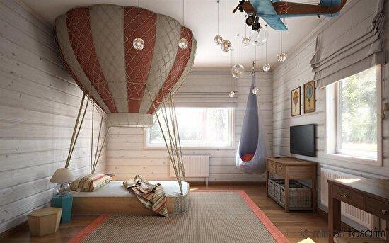 Oda tasarımında hayalleri konuşturmak