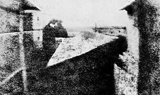 Tarihin ilk fotoğrafı, Joseph Nicepore Niepce, 1827 yılı