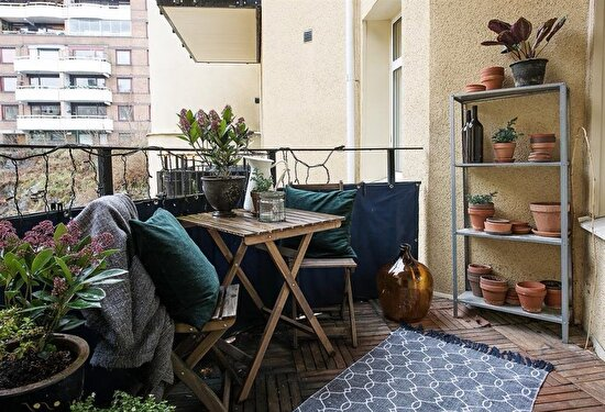 Yazın yaşam alanım: Balkon