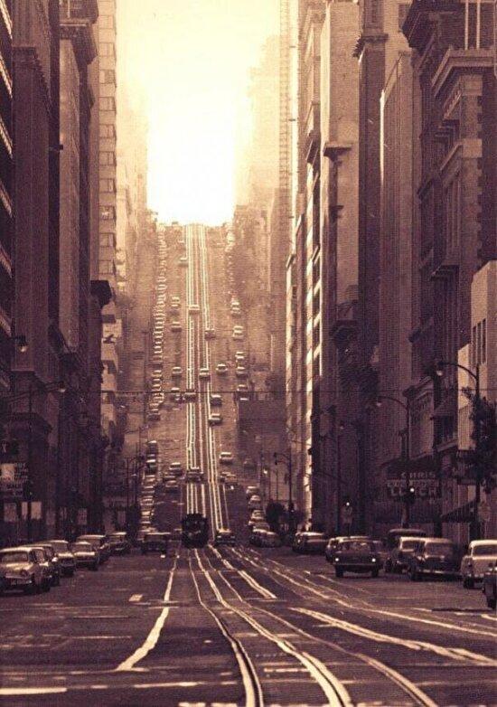 California Caddesi, San Francisco 1964