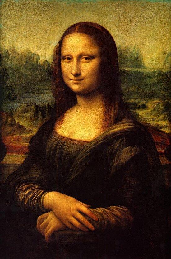 Sanatla bütünleşmiş eşsiz eser Mona Lisa
